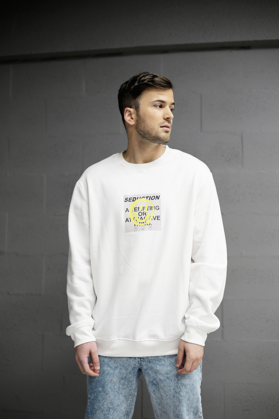 SEDUCTION LONGSLEEVE WHITE (Out of Stock)
