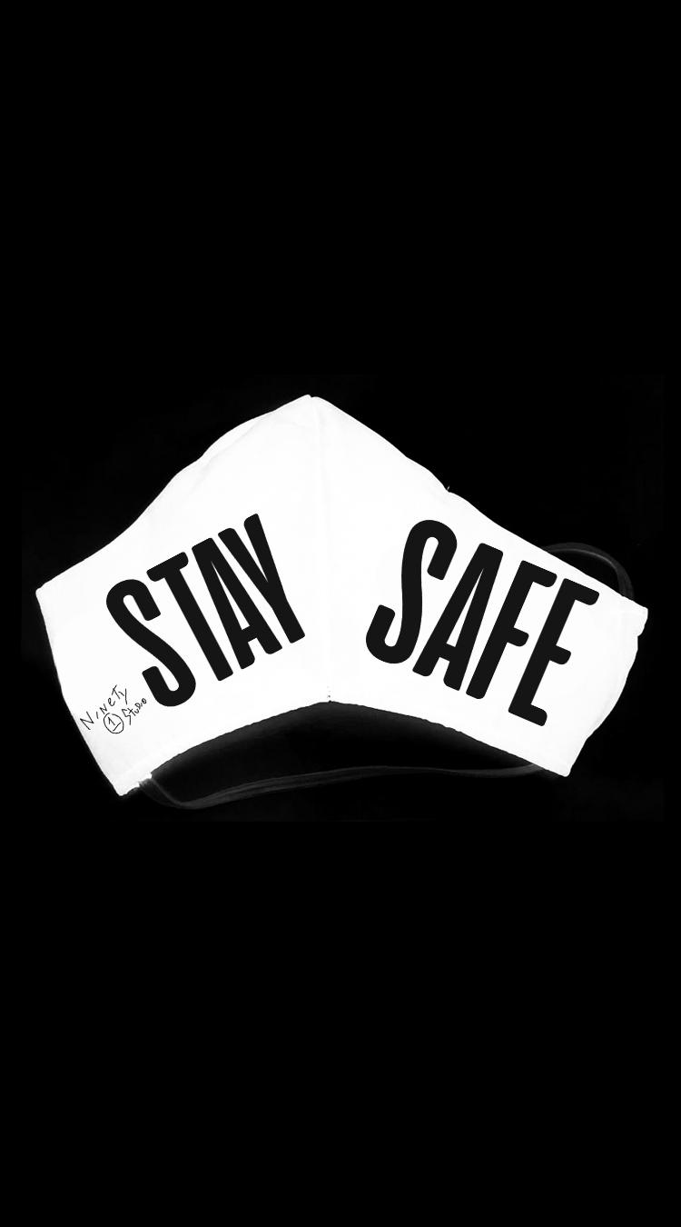 A MÁSCARA STAY SAFE (WHITE)