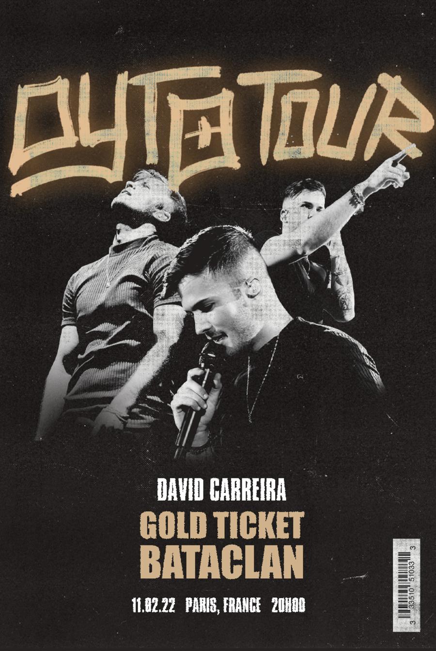 Gold Ticket - Bataclan, França (11 de fevereiro) ESGOTADO